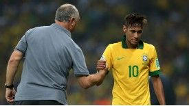 Luiz Felipe Scolari insists Neymar is not anaemic.