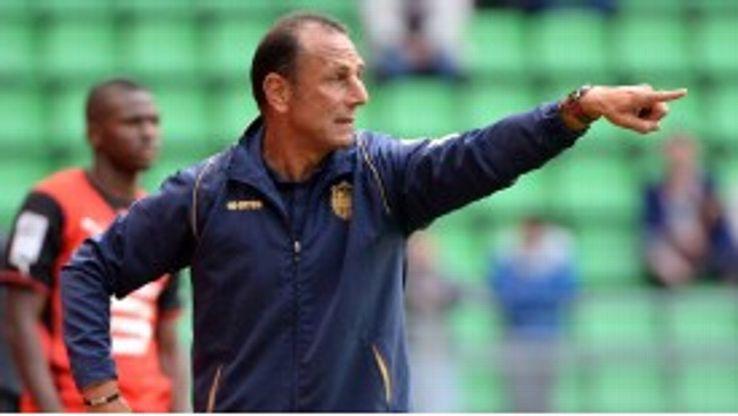 Nantes coach Michel Der Zakarian faces the prospect of a points deduction.