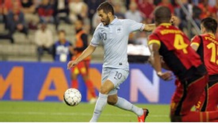 Karim Benzema failed to find the back of the net against Belgium.