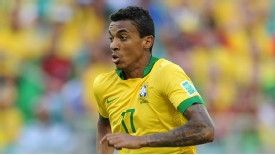 Luiz Gustavo wants regular football to boost his chances of playing for Brazil at the 2014 World Cup.