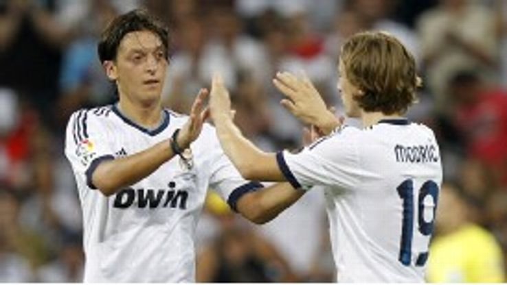 Mesut Ozil and Luka Modric had both been linked with Manchester United prior to their moves to Madrid.