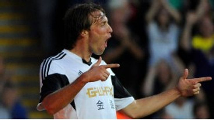 Michael Laudrup feels only the likes of Barcelona or Real Madrid would tempt Michu.