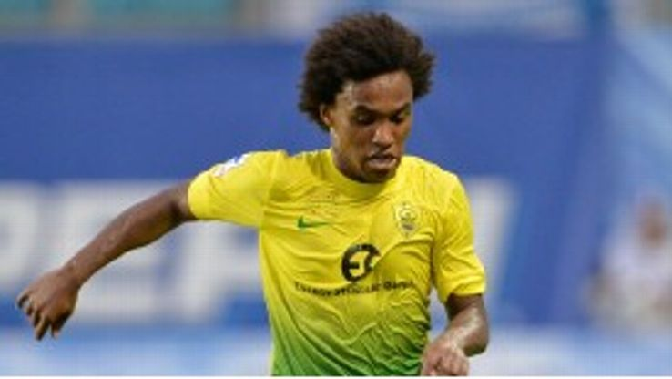 Andre Villas-Boas had spoken positively about Willian during his time as Chelsea boss.