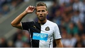 Yohan Cabaye joined Newcastle United from Lille in 2011.