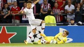 Stephan El Shaarawy scored for AC Milan against PSV Eindhoven.