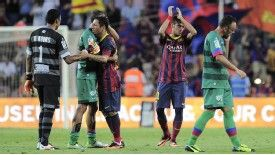 Santos were beaten 8-0 at Barcelona on August 3 in a friendly that has disrupted the domestic season in Brazil.