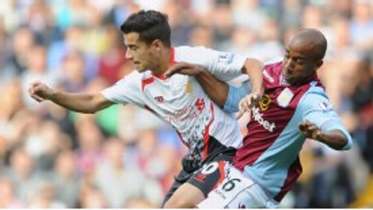 Fabian Delph continued his impressive start to the season against Liverpool.
