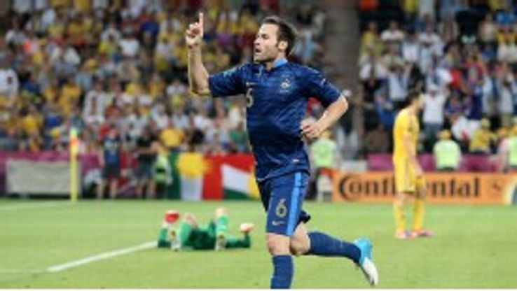 Yohan Cabaye was a favourite of Laurent Blanc's during the former's time in charge of France.