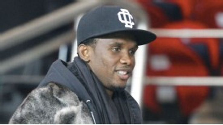 Samuel Eto'o appears to be open to a return to Inter.