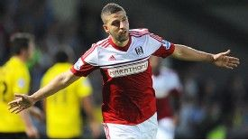Adel Taarabt put Fulham in front at Burton Albion.