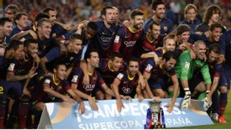 Barcelona claimed the silverware after a heated stalemate.