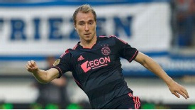 Christian Eriksen is close to a move to White Hart Lane.