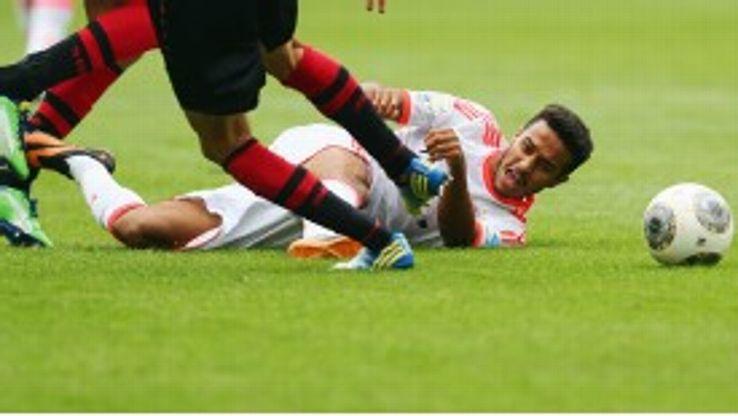 Thiago Alcantara Bayern Munich injury