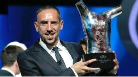 Franck RIbery pipped Lionel Messi and Cristiano Ronaldo to UEFA's Best Player in Europe Award.