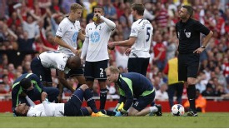 Etienne Capoue sustained an ankle at Arsenal on Sunday.