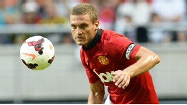 Nemanja Vidic calm despite goal drought