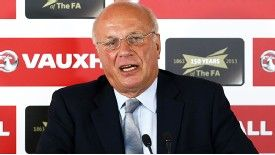 Greg Dyke set out his vision for the future of the England team at a news conference last month.