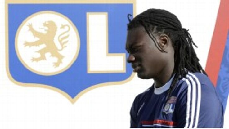 Bafetimbi Gomis' Lyon career had looked to be over.