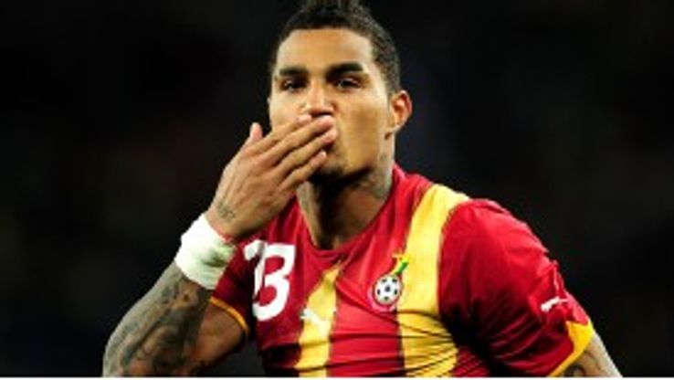 Schalke's Kevin-Prince Boateng is back for Ghana.