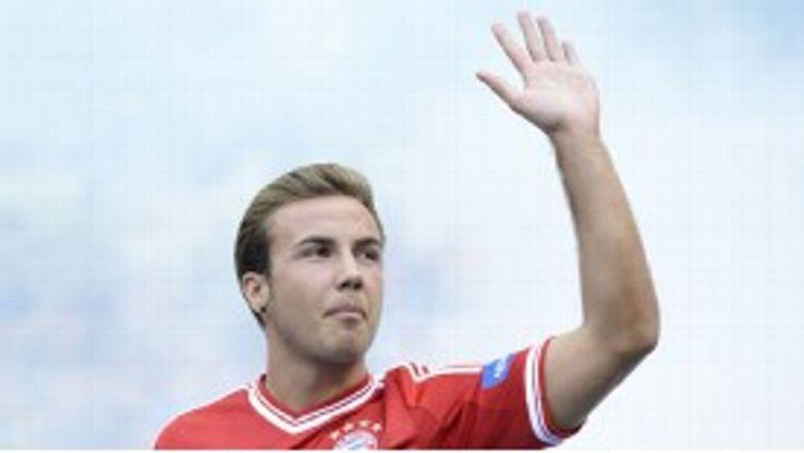 Mario Gotze was a record transfer between German clubs.