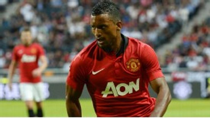 Nani has only started three Premier League matches so far in 2013.