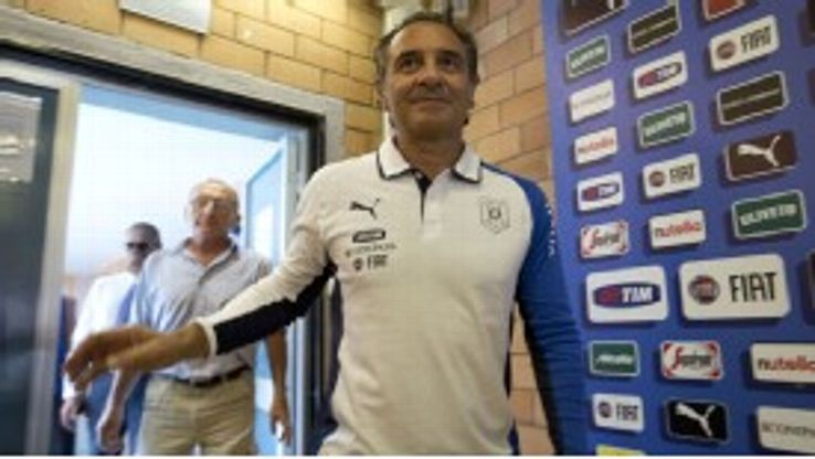 Cesare Prandelli's future as Italy boss has been the subject of conjecture.
