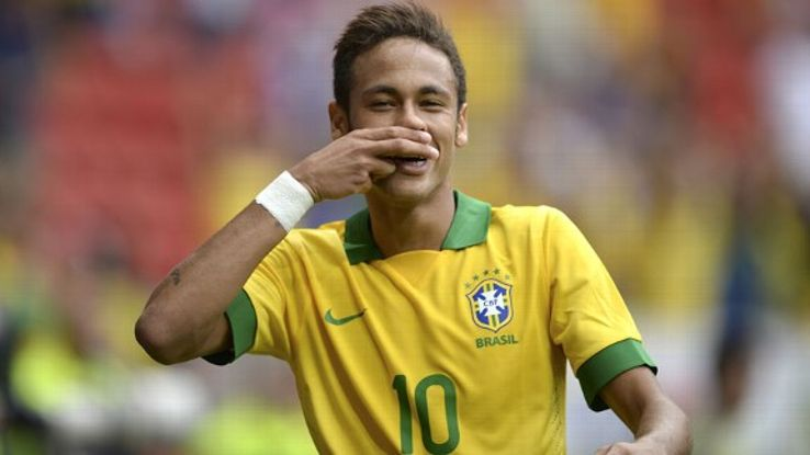 Neymar carries the weight of Brazil on his shoulders.