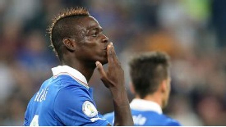 Mario Balotelli scored the winner against Czech Republic.