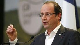 Francois Hollande had planned to tax the highest earners at 75%.