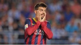 Dos Santos said Gerard Pique had not sought to criticise former Barcelona coaches Pep Guardiola and Tito Vilanova.