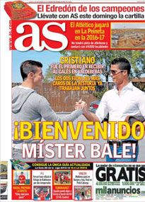 Bale given warm welcome at Real