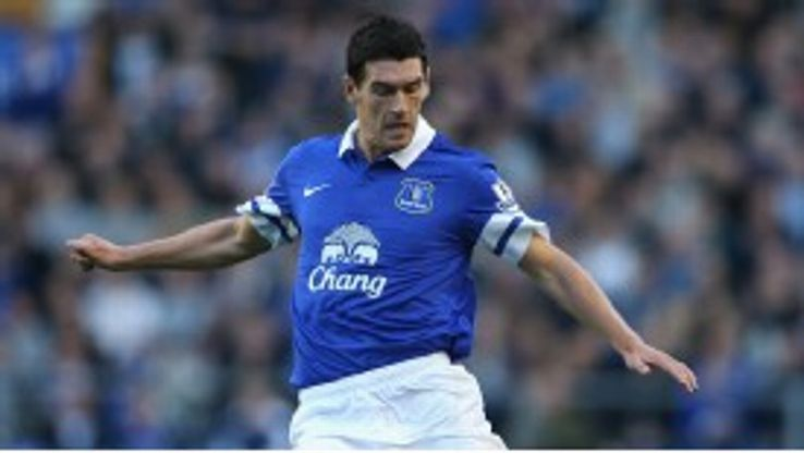 Gareth Barry excelled on his Everton debut.