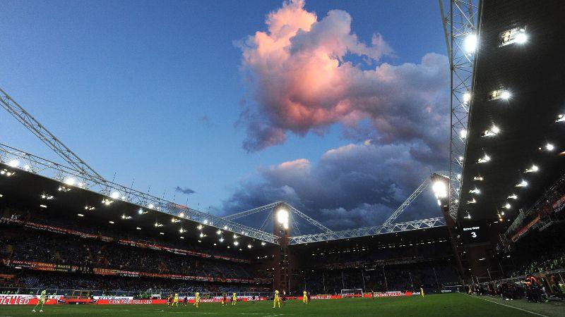 Sampdoria's Stadio Luigi Ferraris.