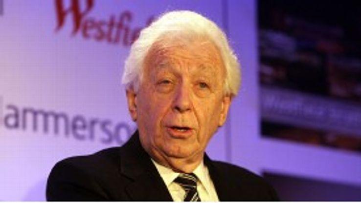 FFA chairman Frank Lowy has taken aim at FIFA.
