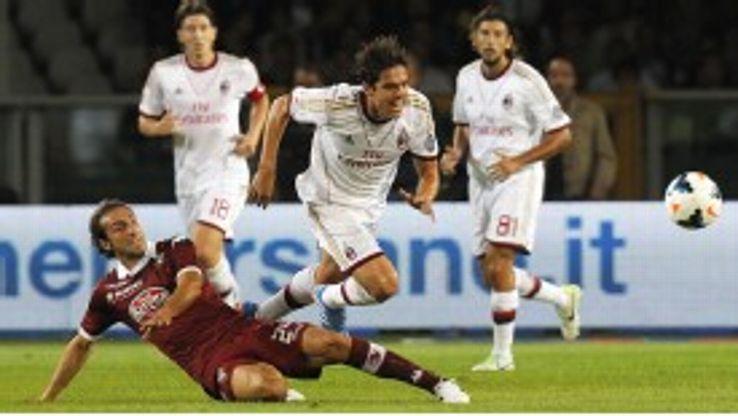 Kaka's AC Milan return was not a happy one.