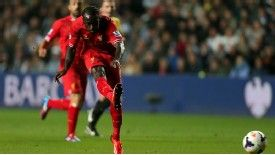 Victor Moses scored on his Liverpool debut against Swansea.