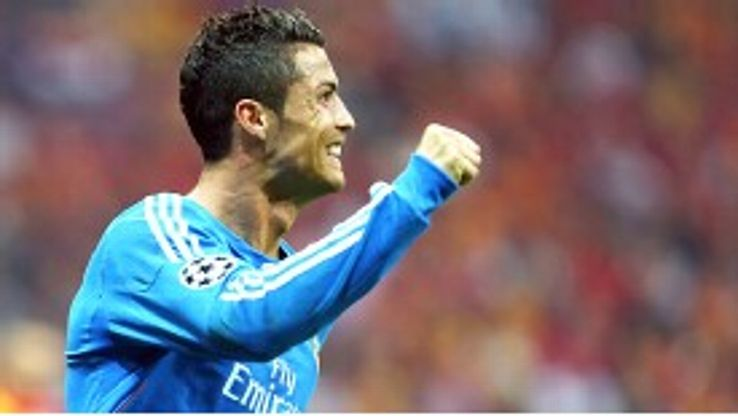 Cristiano Ronaldo scored the 21st hat-trick of his Real Madrid career as they thrashed Galatasaray 6-1.