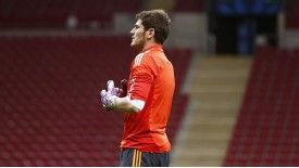 Iker Casillas remains second-choice goalkeeper at Real Madrid.