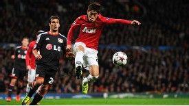 Shinji Kagawa returned to the Manchester United team against Bayer Leverkusen.