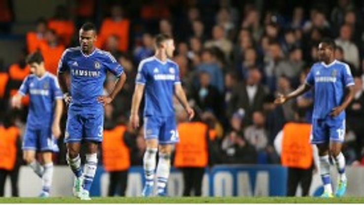 There's nowhere to hide for Ashley Cole and his Chelsea team-mates as they crashed to FC Basel.