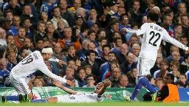 Joy for Basel after Marco Streller netted their shock winner at Stamford Bridge.