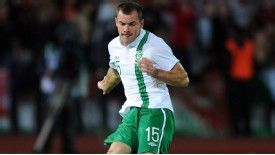Darron Gibson has not played for Ireland since before the European Championship last year.