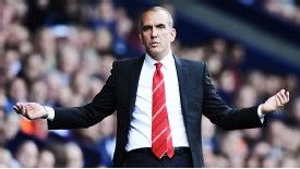 The hapless Paolo Di Canio watches it all go wrong at the Hawthorns.