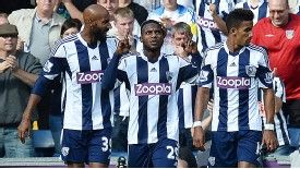 Stephane Sessegnon put West Brom in front against Sunderland, scoring on his debut against his former club.
