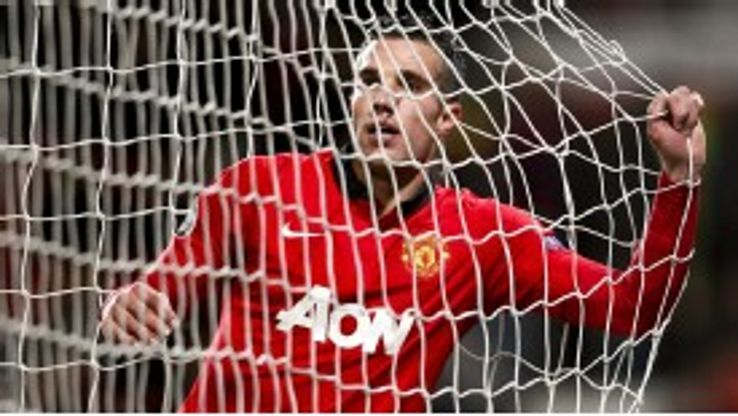 Van Persie has been given an 'outside chance' of playing at the weekend.