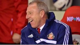 Kevin Ball wants the Sunderland job on a permanent basis.