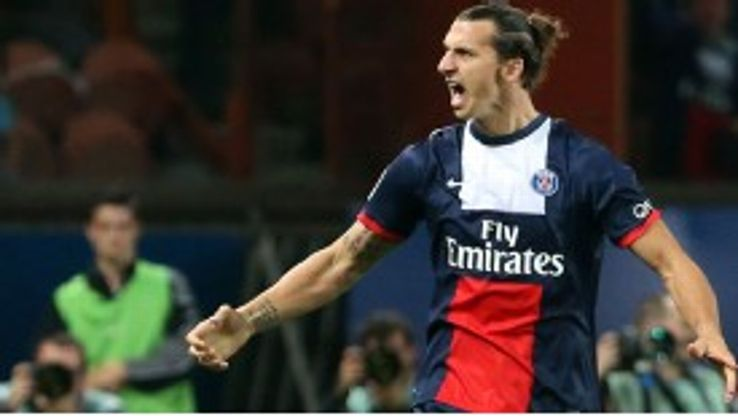 Zlatan Ibrahimovic shouty PSG