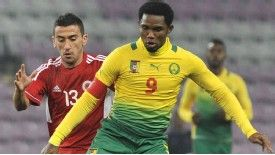 Samuel Eto'o Cameroon action