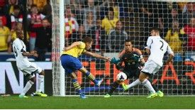 Aaron Ramsey nets another goal for the Gunners.