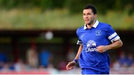 Antolin Alcaraz has endured a frustrating start to his Everton career.